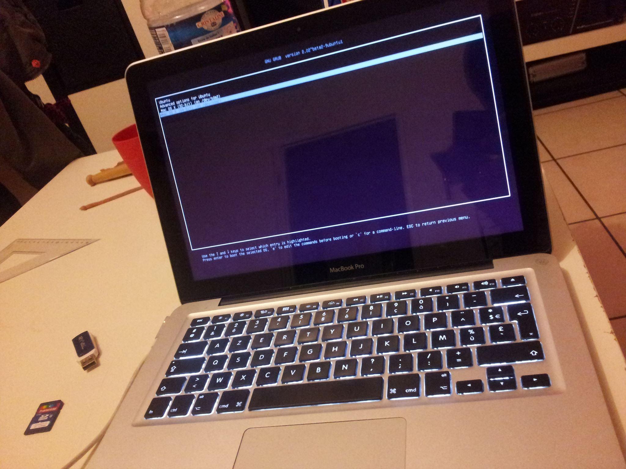 GRUB is loading ^^