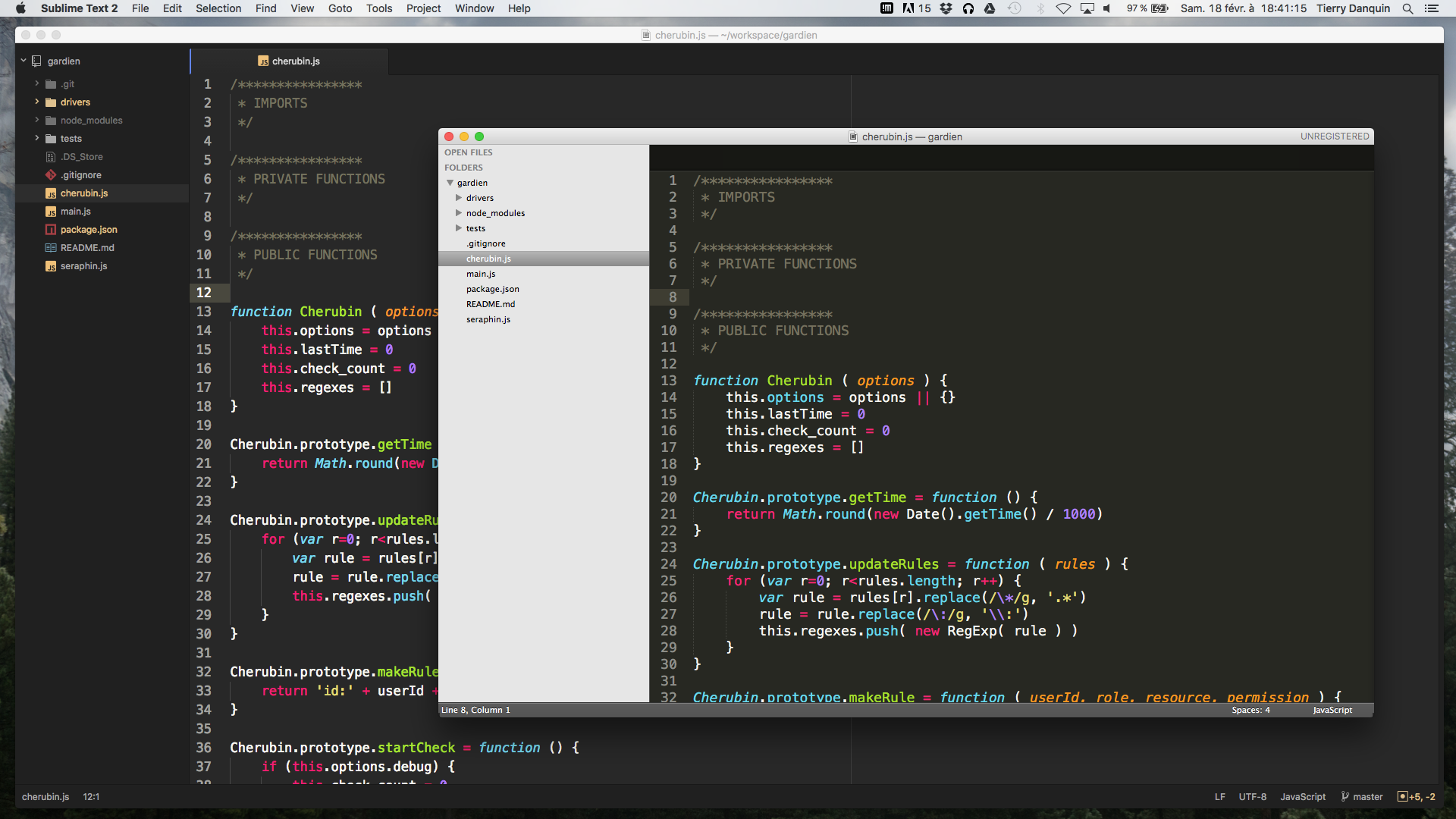 Atom and Sublime